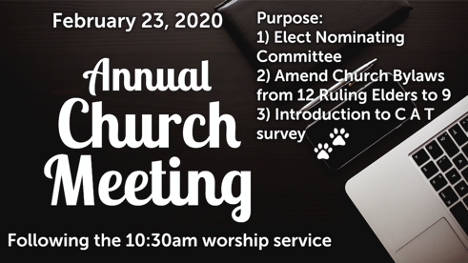 Annual Meeting February 23, 2020