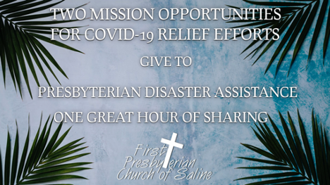 Mission Relief Opportunities