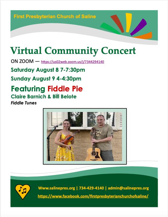 Virtual Community Concert