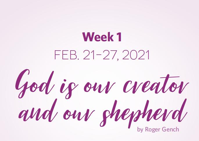 Lent Devotionals Week 1