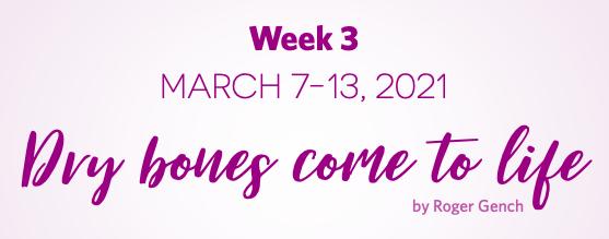 Lent Devotionals Week 3