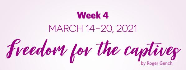 Lent Devotionals Week 4
