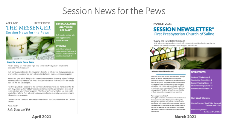 The Messenger Newsletters