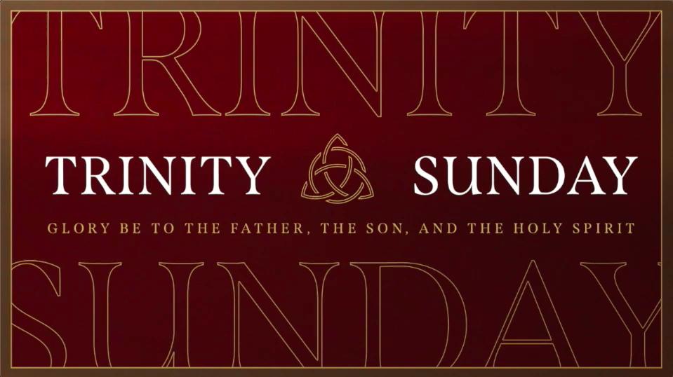 Sunday May 30 2021 Worship